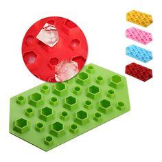Pour gla/çons Forme carr/ée 12 rang/ées Bac /à gla/çons en silicone Tonver Qualit/é alimentaire glaces et fruits Ustensile de cuisine S Green