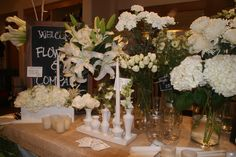 diner en blanc table setting - Google Search