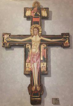 Croce lucchese dipinta. XIII sec palazzo Barberini