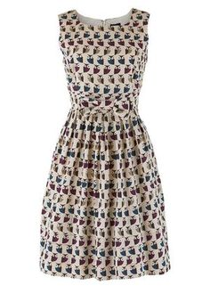 Orla-kiely-cream-owl-dress-