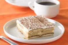 Tiramisu cheesecake bars. So good! I need to make this again!