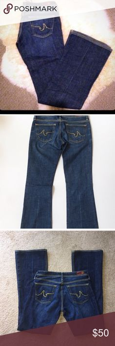 🎈FLASH SALE🎈AG 'the Merlot' EUC-worn less than a handful of times! Size 27S. Slight scratch on front-seen in last picture. AG Adriano Goldschmied Jeans