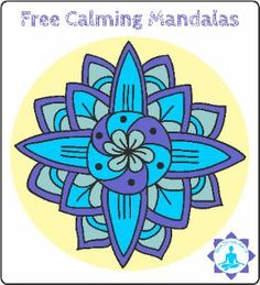 Free Black and White Calming Mandalas to Color - Your Therapy Source