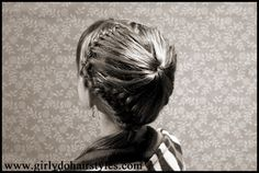 Girly Dos By Jenn: Happy Valentines Day Hairstyle