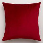 Red Velvet Throw Pillow, Cost Plus World Market