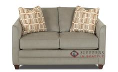 Savvy Valencia Sleeper (Twin) Chic and Nimble. Small and Unique.  Customize It!
