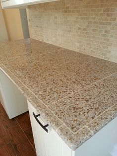Granite Tile Countertop Home projects Pinterest Countertop