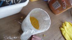 Peinture à la Chaux - Mélange Lime Paint, Decoupage, Cal, Plastic Cutting Board, Frugal, Pudding, Breakfast, Food, Ideas