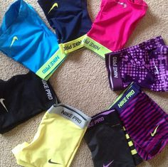 My favorite workout spandex. So comfy and fun! My favorite workout spandex. So comfy and fun! Cheer Outfits, Sporty Outfits, Nike Outfits, Athletic Outfits, Athletic Wear, Athletic Shorts, Nike Pro Spandex, Nike Pro Shorts, Spandex Shorts