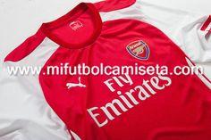 Primera camiseta del Arsenal 2014/15 02
