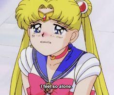 aesthetic, anime, and moon image Sailor Moon Quotes, Sailor Moon Girls, Sailor Moon Usagi, Sailor Moon Aesthetic, Aesthetic Anime, Pink Aesthetic, Haikyuu, Sailor Moon Drops, Moon Icon