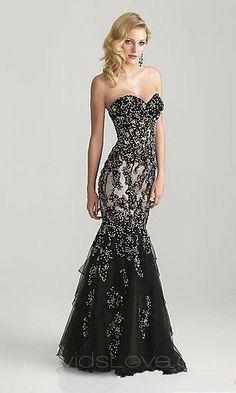 Mermaid Sweetheart Long Lace Prom Dress