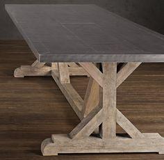 Railroad Tie Rectangular Dining Table