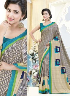 Shop online saree from our updated catalog collection of saree. Grab this kanchipuram silk casual saree for casual and party.