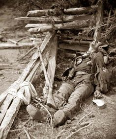 In 1862, Matthew Brady exhibited Alexander Gardner and James Gibson's photos of the Battle of Antietam for the American Civil War. 23,000 pe...