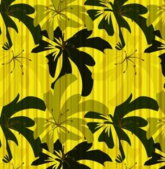8 Yellow/Black Floral Seamless Patterns Set JPG - http://www.welovesolo.com/8-yellowblack-floral-seamless-patterns-set-jpg/