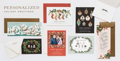 Personalized Holiday - RIFLE PAPER Co.