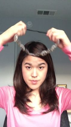 Watch this for an easy way to style your hair without all of the trouble
