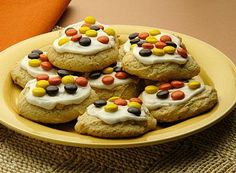REESE'S PIECES Halloween Cookies