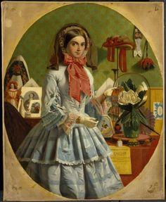 Collinson, James, (1825-1881), The Empty Purse, 1857, Oil