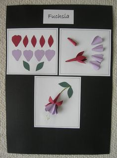 A Passion For Cards: Tonic Studios Punch and Stamp Instruction boards.  Set 3 - 702e Fuchsia