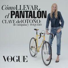 Es de campana, pesquero y va a ser el pantalón clave del otoño. Y si ves su manual de uso en #VogueTV sabrás cómo llevarlo y combinarlo.