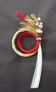 【正月水引リース】 竹を使ったお正月飾り