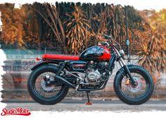 Bajaj Pulsar 220 2012 By Studio Motor    ♠ http://milchapitas-kustombikes.blogspot.com/ ♠
