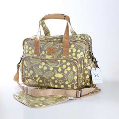 Chatter Butter on Clay Nappy Bag