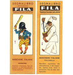 A Mardi Gras bookmark masquerade - Italian Ways Vintage Pins, Vintage Art, Italian Masks, Vintage Italian, Primary School, Mardi Gras, Masquerade, Bookmarks, Old Things