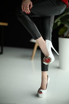 High heels made from real python skin  Now available on our website   WWW.SHULZHENKO.COM