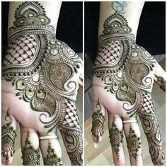 New Pakistani Bridal Mehndi Designs For 2019 | WeddingPace