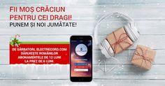 Sărbătorește românește alături de Electrecord.com! Plătești 6 primești 12 Apps, Movie, App, Appliques