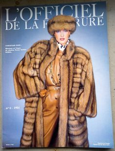 "alte franz. PELZ-FACHZEITSCHRIFT ""L'Officiel de la fourrure"" 1984/6 Zobel Luchs in Antiquitäten & Kunst, Kleidung & Accessoires, Kleidung, Pelze | eBay"