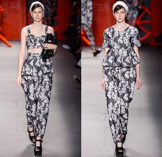 Ellus 2nd Floor 2014 Winter Southern Hemisphere Womens Runway Collection - Fashion Rio Brazil Moda Brasileira - Inverno 2014 Mulheres Desfil...