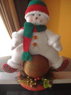 Molde y patrones de Muñecos de Nieve Navideño | EcoArtesanias.com Felt Christmas, Christmas Humor, Christmas Stockings, Christmas Crafts, Christmas Decorations, Xmas, Christmas Ornaments, Holiday Decor, Snowman Crafts