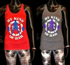 "New Women's ""My Kind of Bar"" Racerback Tanks now available!   extremerush.com"