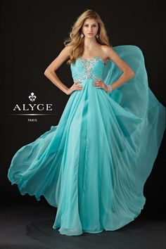 Alyce white prom dresses are elegant and suitable for every girl