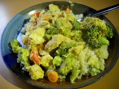 Coconut Curry Chicken that you can load up with lots of veggies and as much curry as you like!