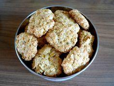 Ms. Blogger Eva: Skvělé kokosovo-banánové sušenky z ovesných vloček...