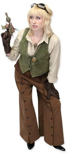 Steampunk Outfit - unusual and excellent pants