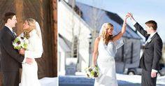 Breckenridge Colorado winter destination wedding