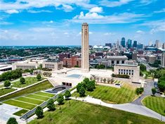 The National World War I Museum and Memorial of the United States is located in Kansas City, Missouri. Opened to the public as the Liberty Memorial museum in 1926, it was designated in 2004 by the United States Congress as America's official museum dedicated to World War I.