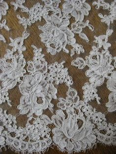 French Lace.....love lace, want all the lace, lol.
