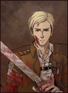Commander Erwin Smith snk aot