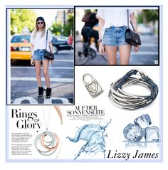 """LizzyJames 5"" by followme734 ❤ liked on Polyvore featuring Tiffany & Co., Lizzy James, jewelry, bracelet, earrings, accessories and 2016"