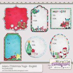 Merry Christmas - Tags :: Memory Scraps