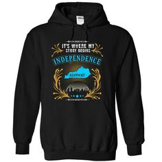 Independence Kentucky is Where Your Story Begins T-Shirts, Hoodies. Check Price ==> https://www.sunfrog.com/States/Independence--Kentucky-is-Where-Your-Story-Begins-2103-1394-Black-31724034-Hoodie.html?id=41382