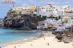 Spiaggia Morro Jable a Fuerteventura (Canarie)