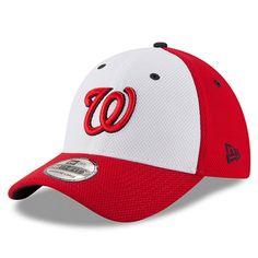 Washington Nationals New Era Diamond Era 39THIRTY Flex Hat - Red/White